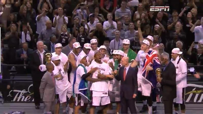 Kawhi Leonard, San Antonio Spurs Champions