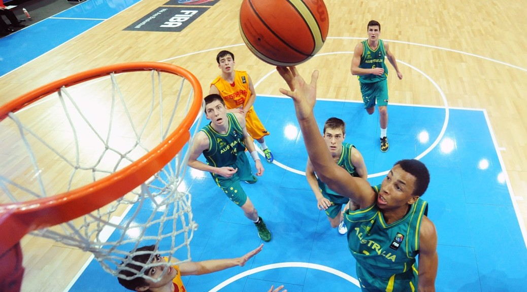 Dante Exum, Australian Boomers, Basketball