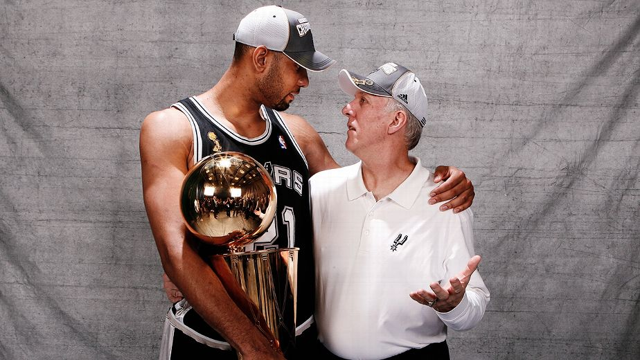 Pop & Timmy : Your San Antonio Spurs : Photo ESPN