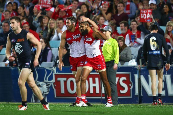 Sydney v Carlton, AFL, Round 17